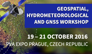 Geospatial, Hydrometeorological and GNSS (GEOMETOC) Workshop 2016